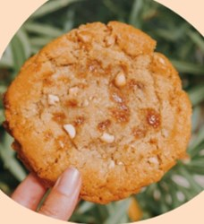 Image de Cookie caramel cacahuètes